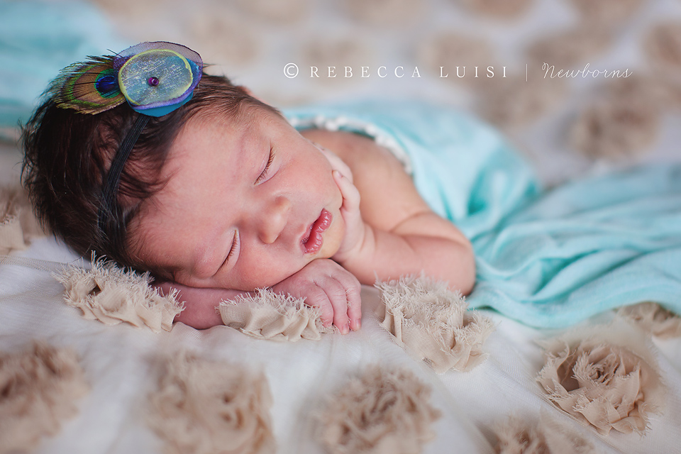 Newborn Baby Girl With Black Hair And Blue Eyes Baby Ava | Orlando New...