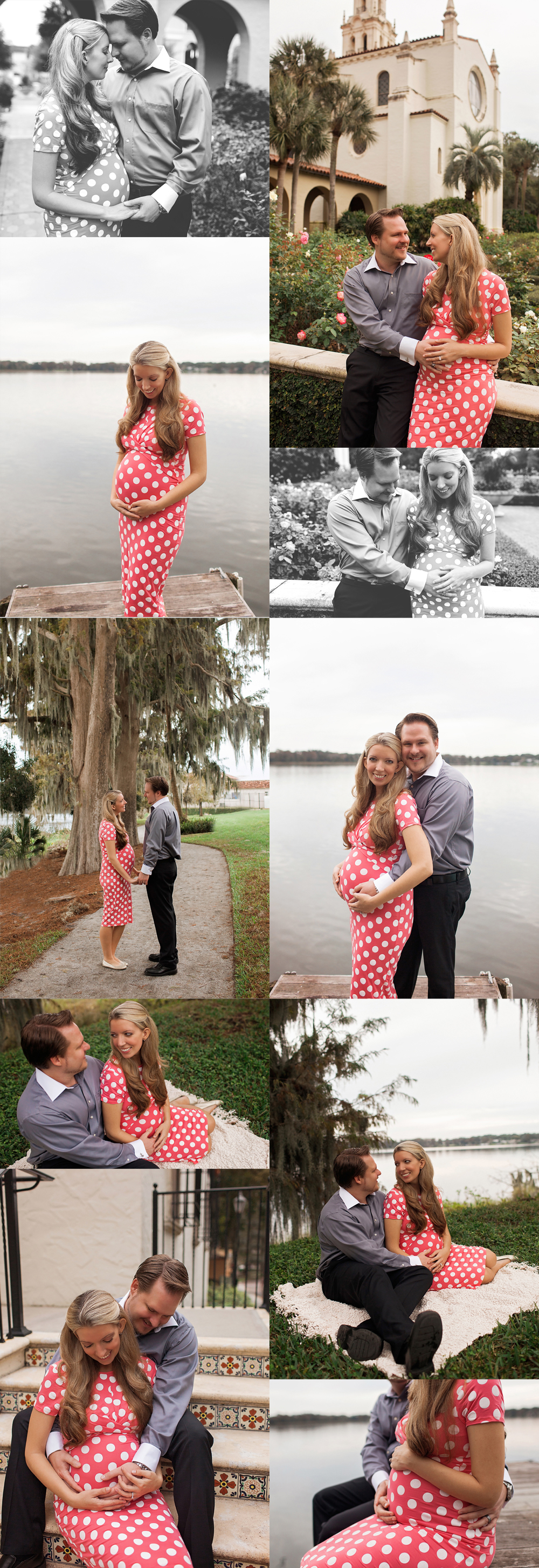 Rollins College Winter Park Maternity Photographer